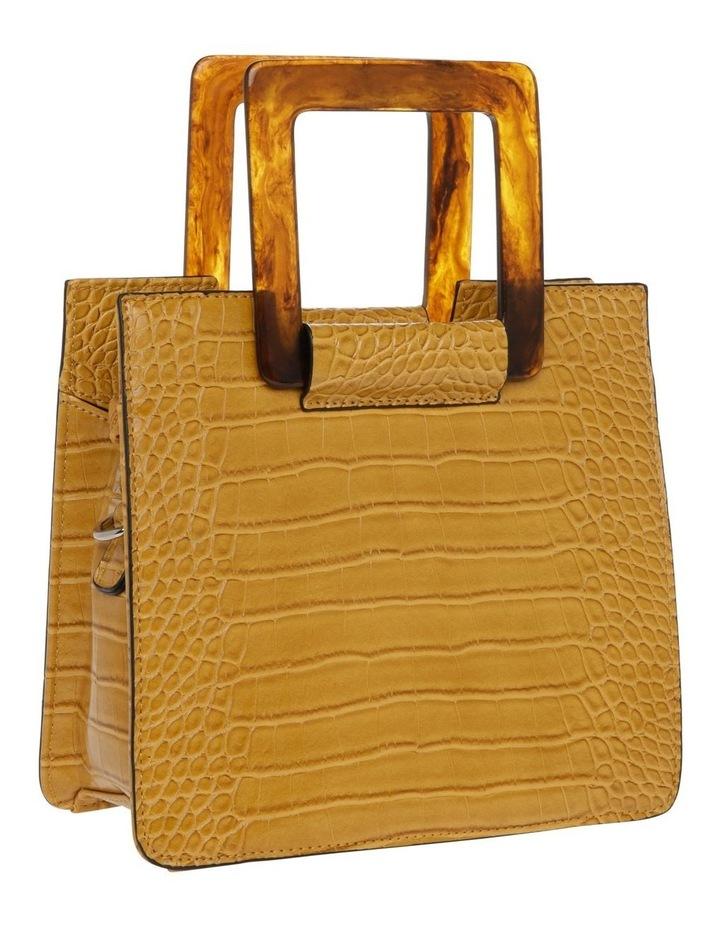 Eva Top Handle Yellow Crossbody Bag image 2