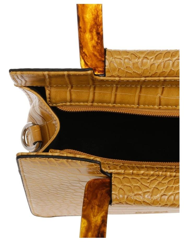 Eva Top Handle Yellow Crossbody Bag image 4