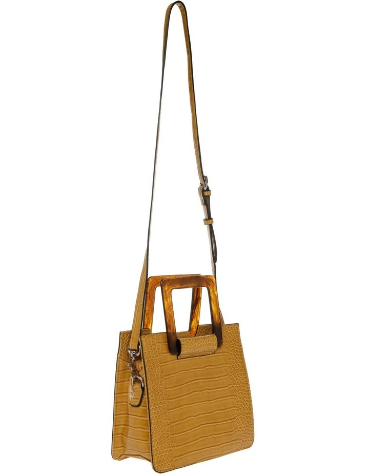 Eva Top Handle Yellow Crossbody Bag image 5
