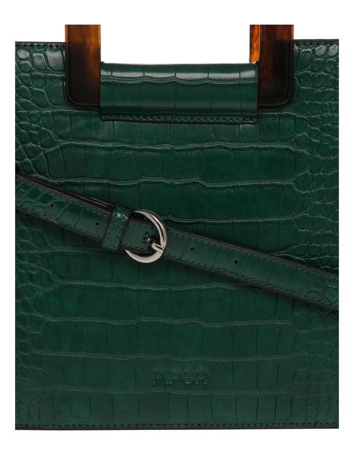 Eva Top Handle Green Crossbody Bag image 3
