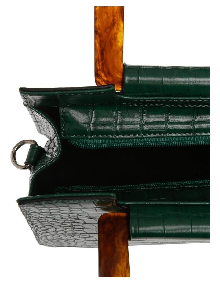 Eva Top Handle Green Crossbody Bag image 4