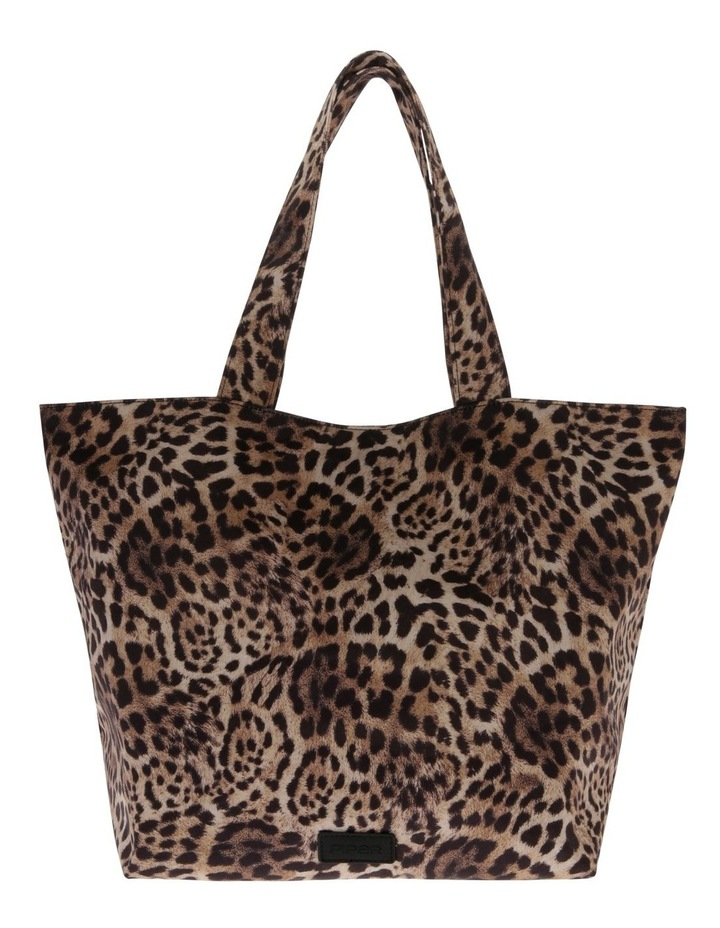 Leopard Double Handle Assorted Tote Bag image 1