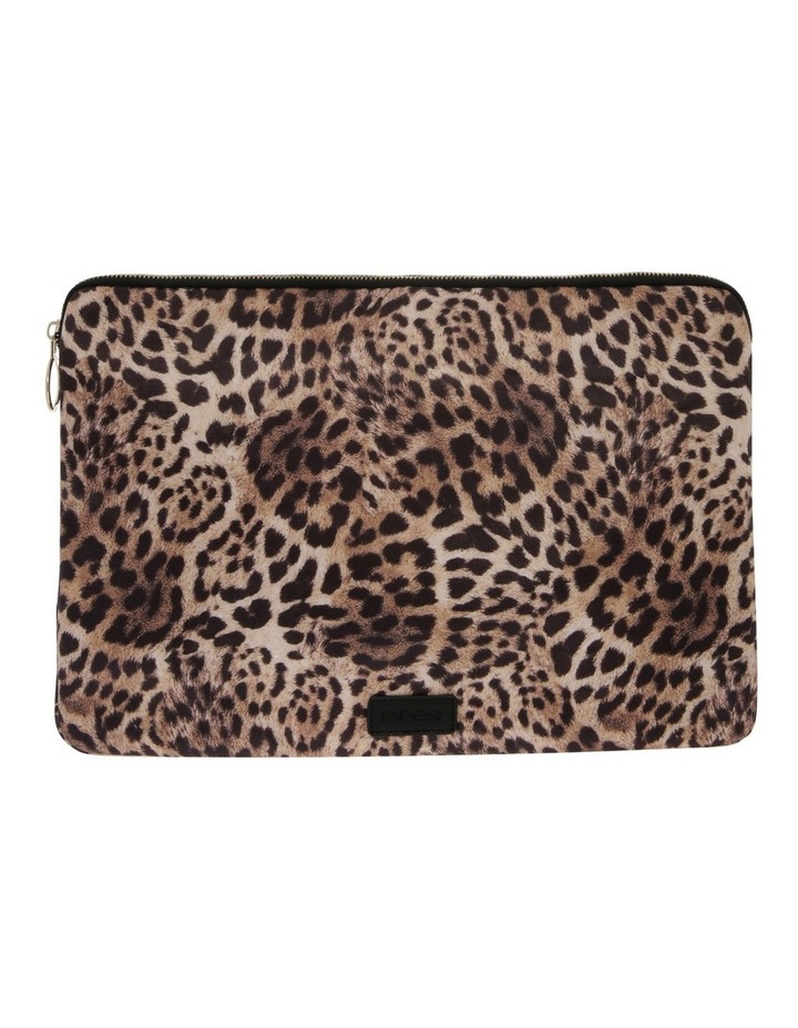 Leopard Zip Top Assorted Laptop Case image 1