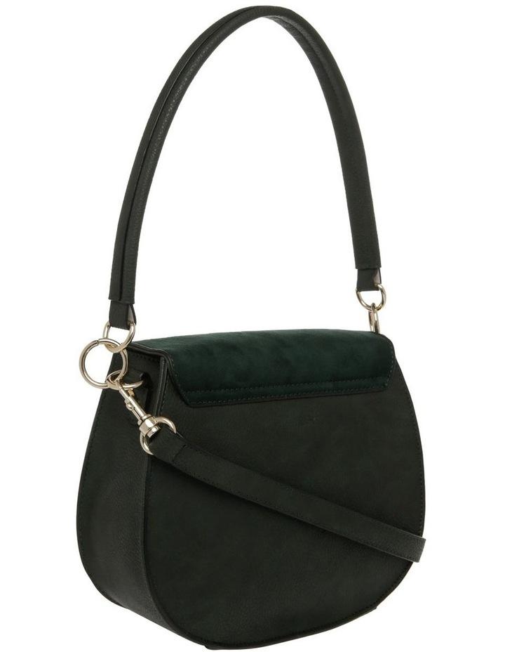 Zoe Flap Over Green Crossbody Bag image 2