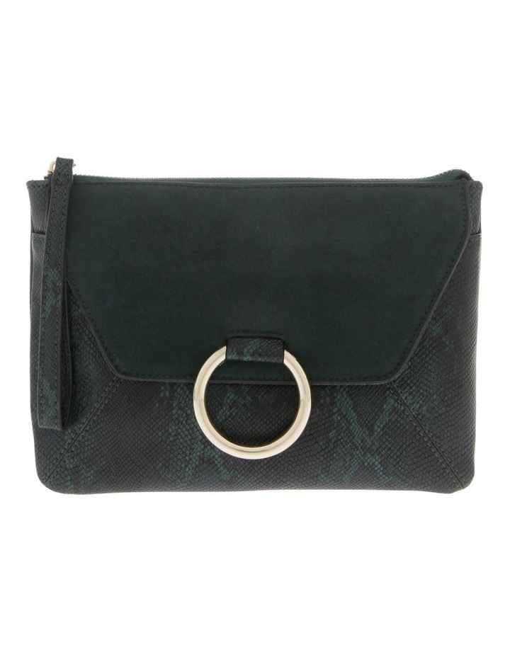 Livia Flap Over Green Pouch image 1