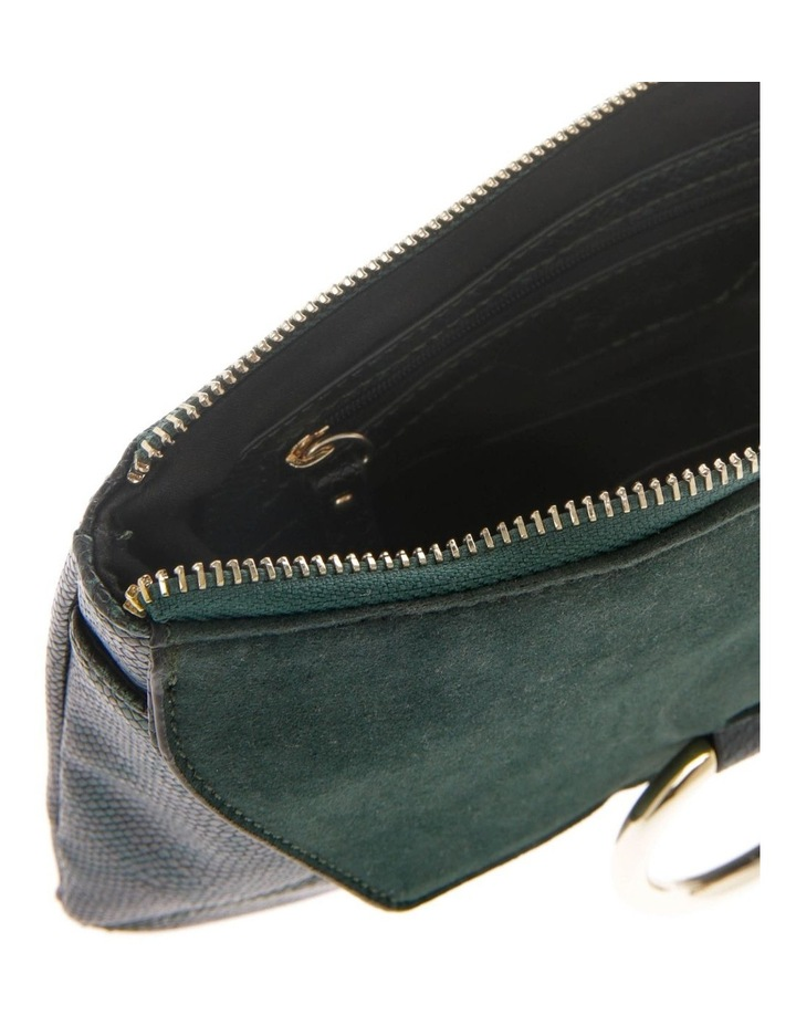 Livia Flap Over Green Pouch image 3