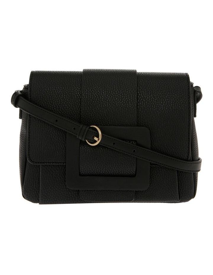 Ginny Flap Over Black Crossbody Bag image 1