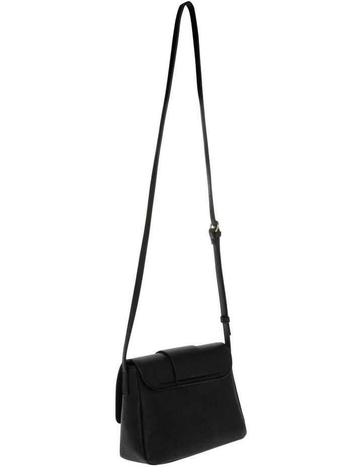 Ginny Flap Over Black Crossbody Bag image 2