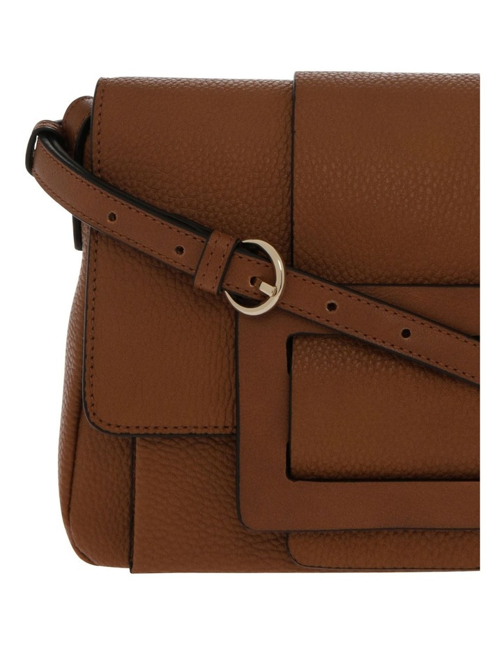 Ginny Flap Over Tan Crossbody Bag image 3
