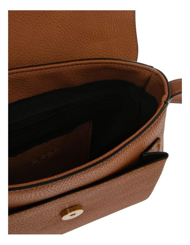 Ginny Flap Over Tan Crossbody Bag image 4