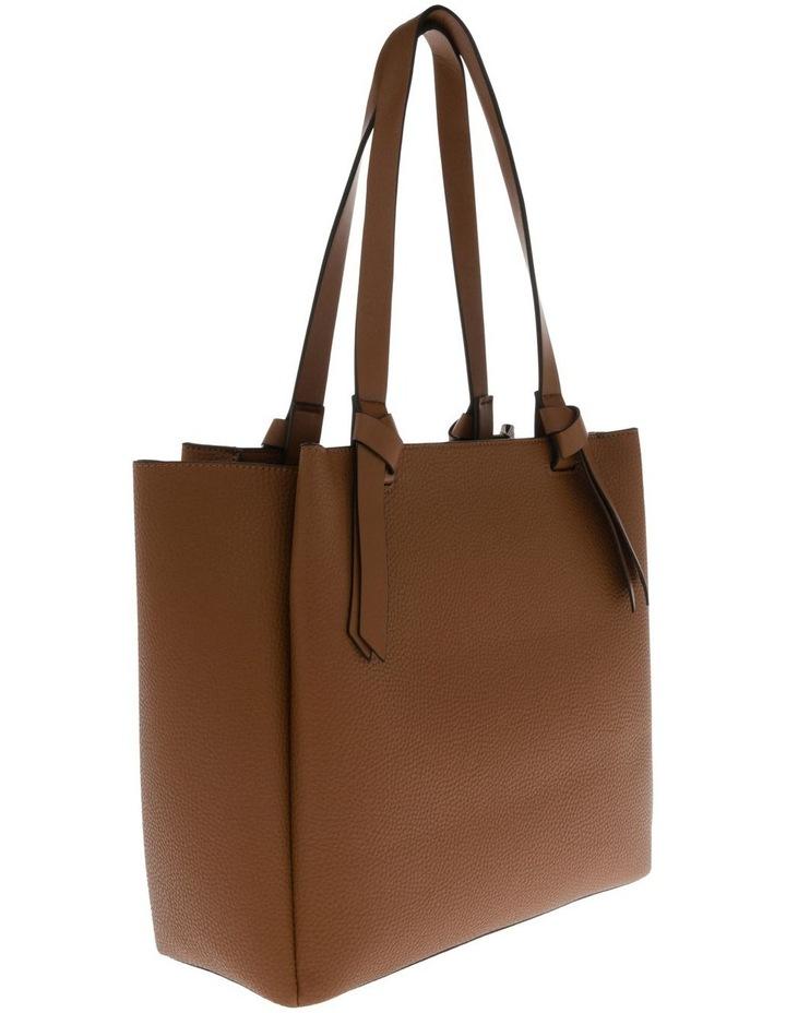 Christina Double-Handle Tan Tote Bag image 2