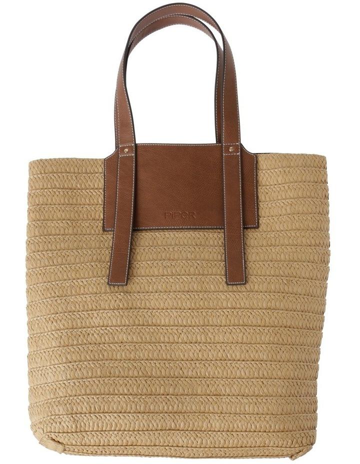 Taormina Straw Top Handle - Tote Bag image 1