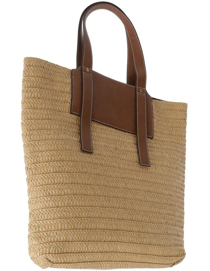 Taormina Straw Top Handle - Tote Bag image 2