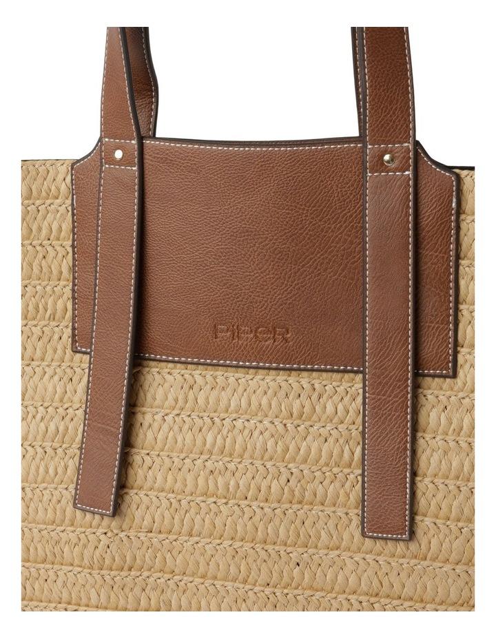 Taormina Straw Top Handle - Tote Bag image 3