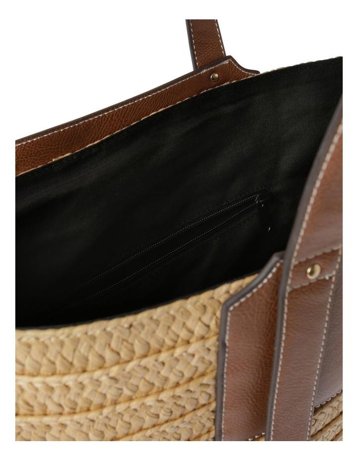 Taormina Straw Top Handle - Tote Bag image 4