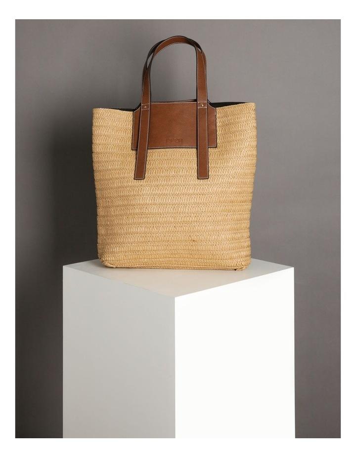 Taormina Straw Top Handle - Tote Bag image 5