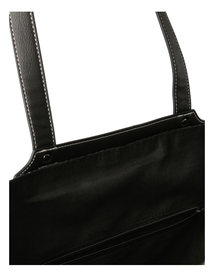 Portofino Straw Top Handle - Tote Bag image 4