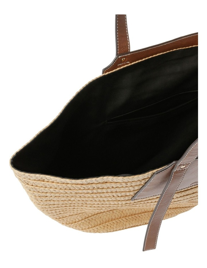 Portofino Straw Top Handle - Tote Bag image 4