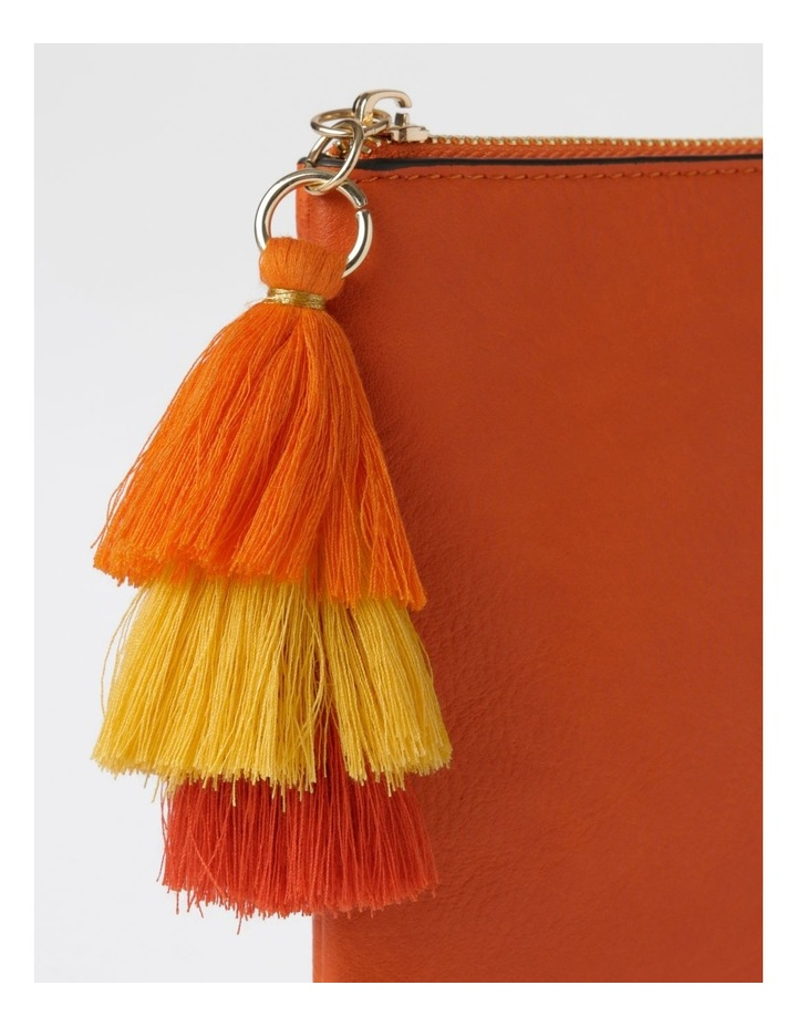 Ami Zip Top Pouch in Orange image 3