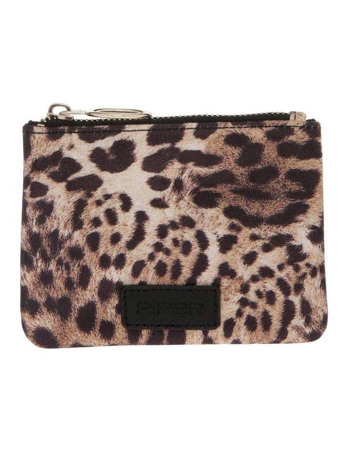 PPP001 Leopard Zip Top Assorted Coin Purse image 1