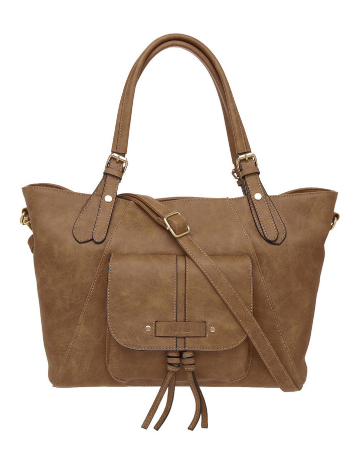 Melanie Zip Top Tote Bag image 1
