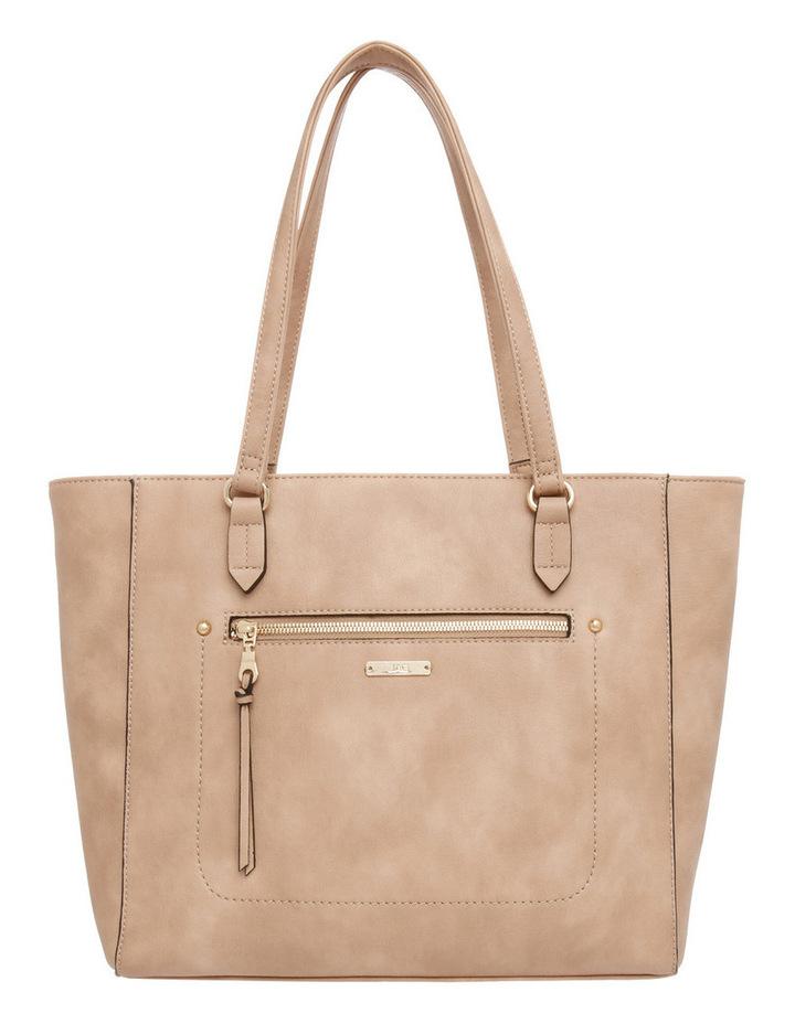 Stitch Zip Top Tote Bag image 1