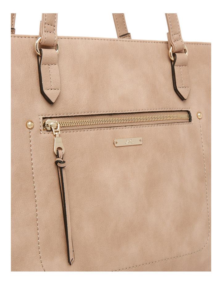 Stitch Zip Top Tote Bag image 3