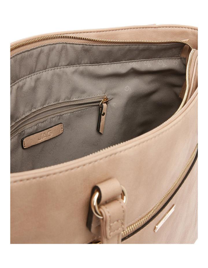 Stitch Zip Top Tote Bag image 4