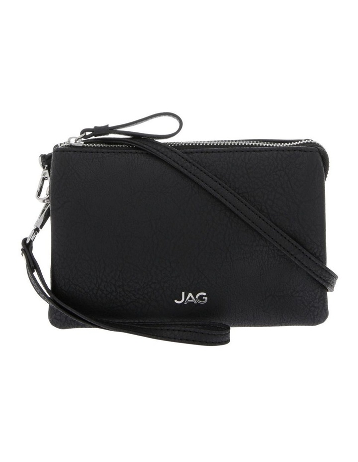 Stone Colour Ava Zip Top Crossbody Bag image 1