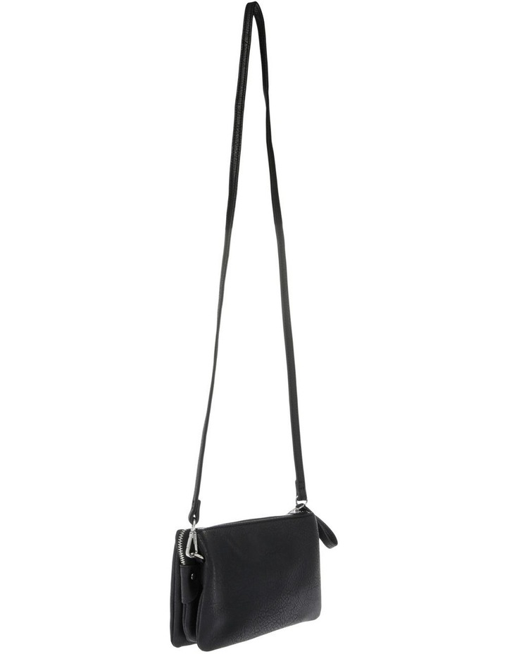 Stone Colour Ava Zip Top Crossbody Bag image 2