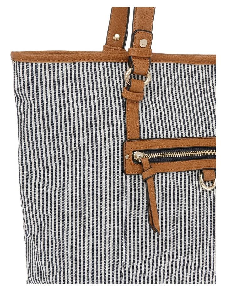 Panama Zip Top Tote Bag image 3