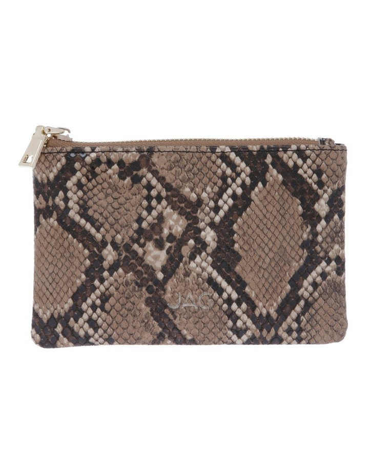 Chicago Camel Snake Pouch image 1