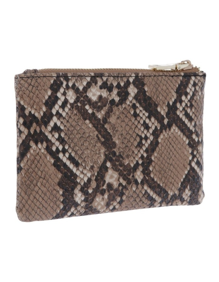 Chicago Camel Snake Pouch image 2