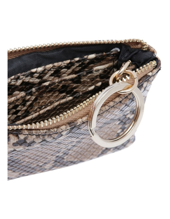 Chicago Camel Snake Pouch image 3