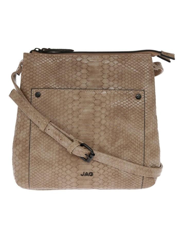 Rosie Croc Zip Top Crossbody Bag image 1