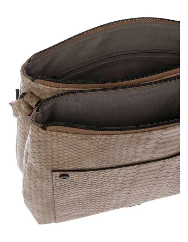 Rosie Croc Zip Top Crossbody Bag image 4