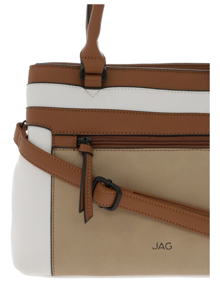 Tyra Zip Top Tote Bag image 3