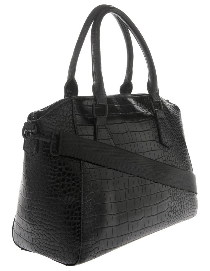 Hazel Double Handle Tote Bag in Black image 2