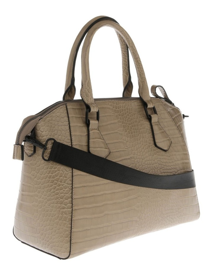 Hazel Double-Handle Tote Bag in Taupe image 2