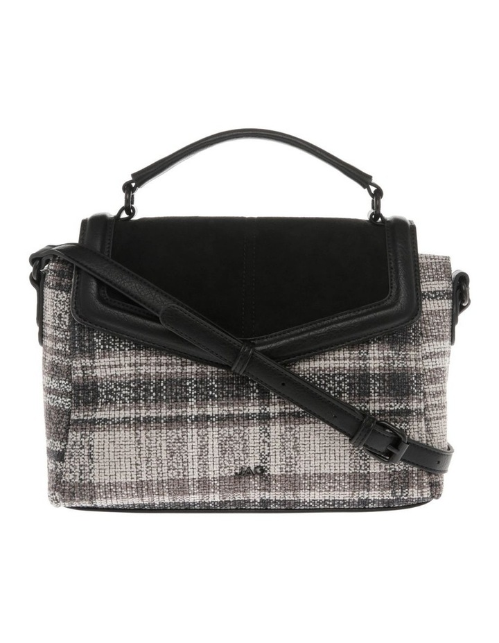 Freya Flap-Over Tweed Satchel image 1