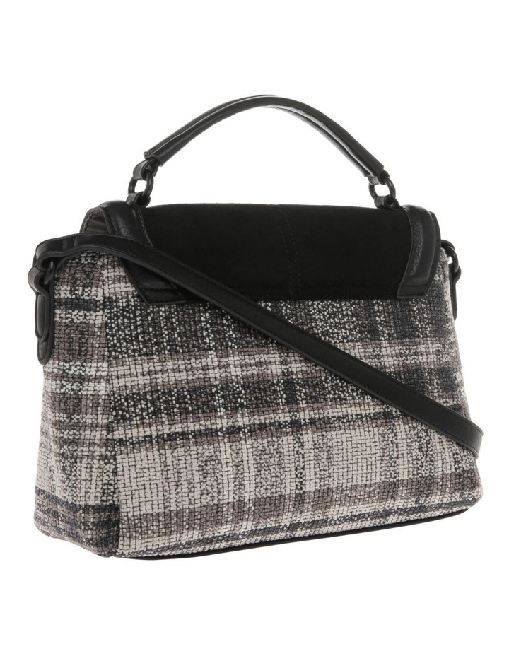 Freya Flap-Over Tweed Satchel image 2
