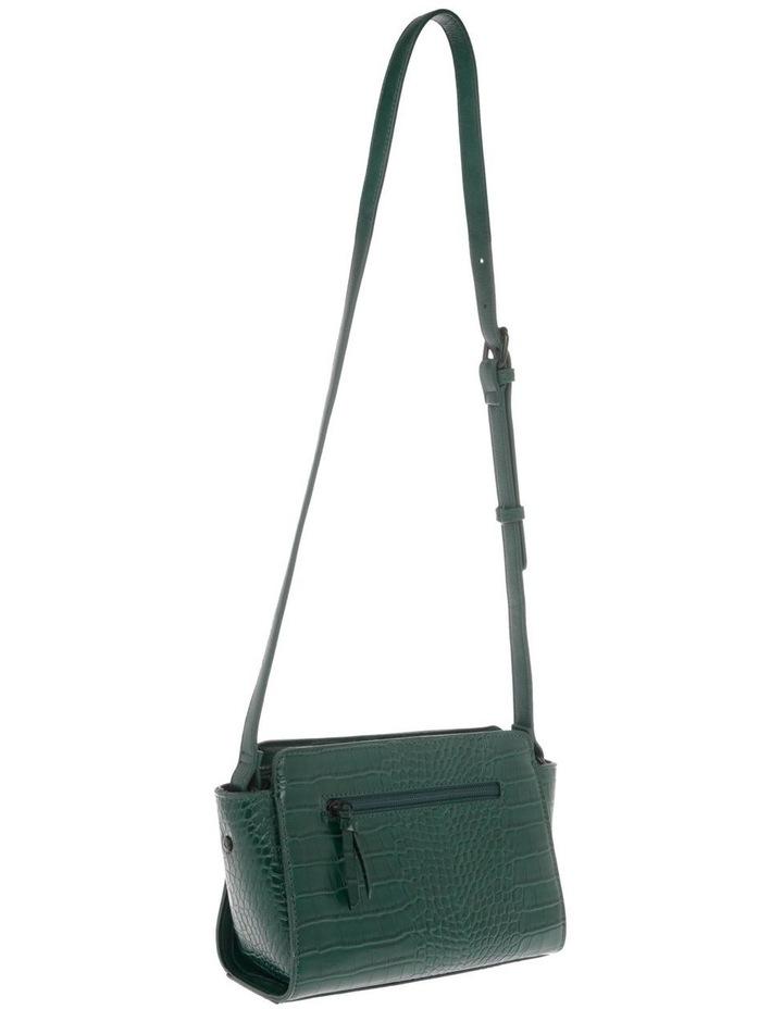 Lucille Zip-Top Green Crossbody Bag image 2