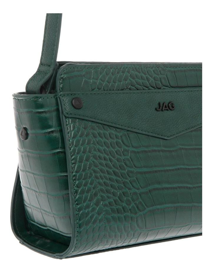 Lucille Zip-Top Green Crossbody Bag image 3