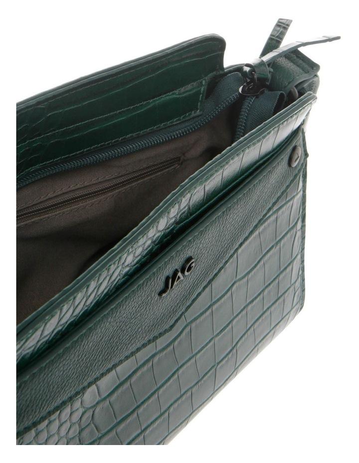 Lucille Zip-Top Green Crossbody Bag image 4
