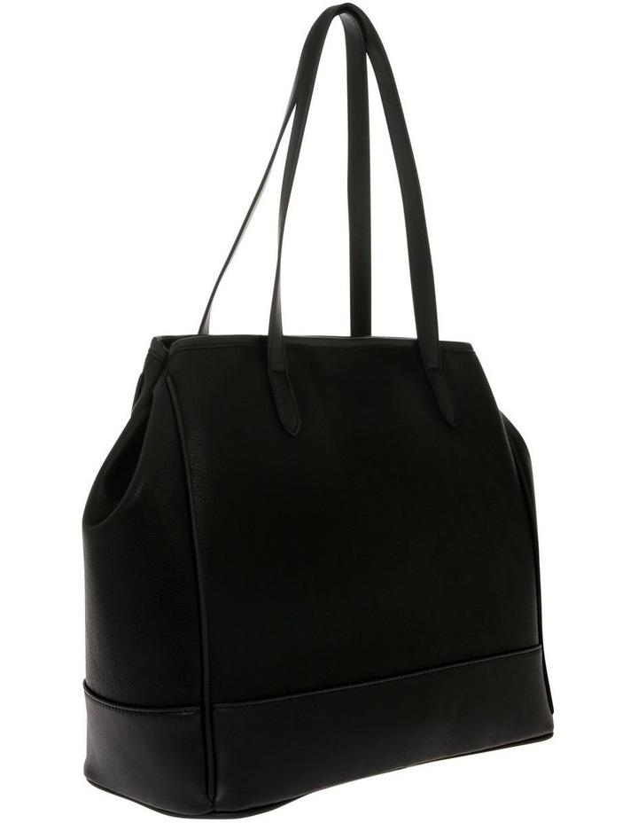 Lisa Black Double-Handle Tote Bag image 2