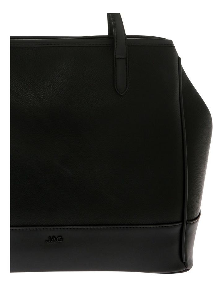 Lisa Black Double-Handle Tote Bag image 3