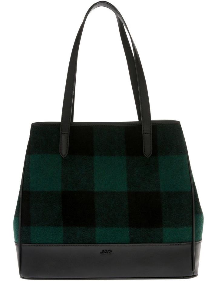 Lisa Double Handle Green Tote Bag image 1
