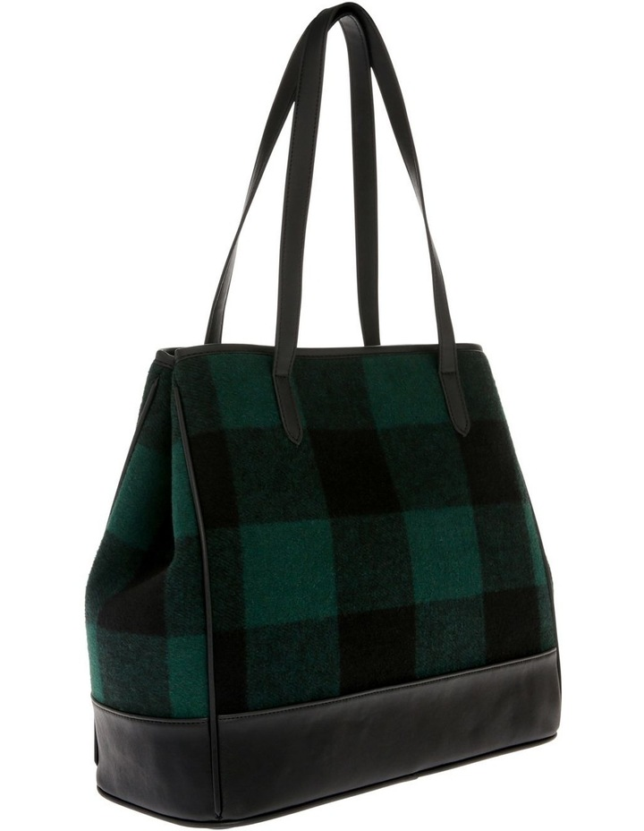 Lisa Double Handle Green Tote Bag image 2