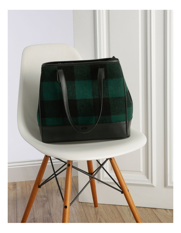 Lisa Double Handle Green Tote Bag image 5