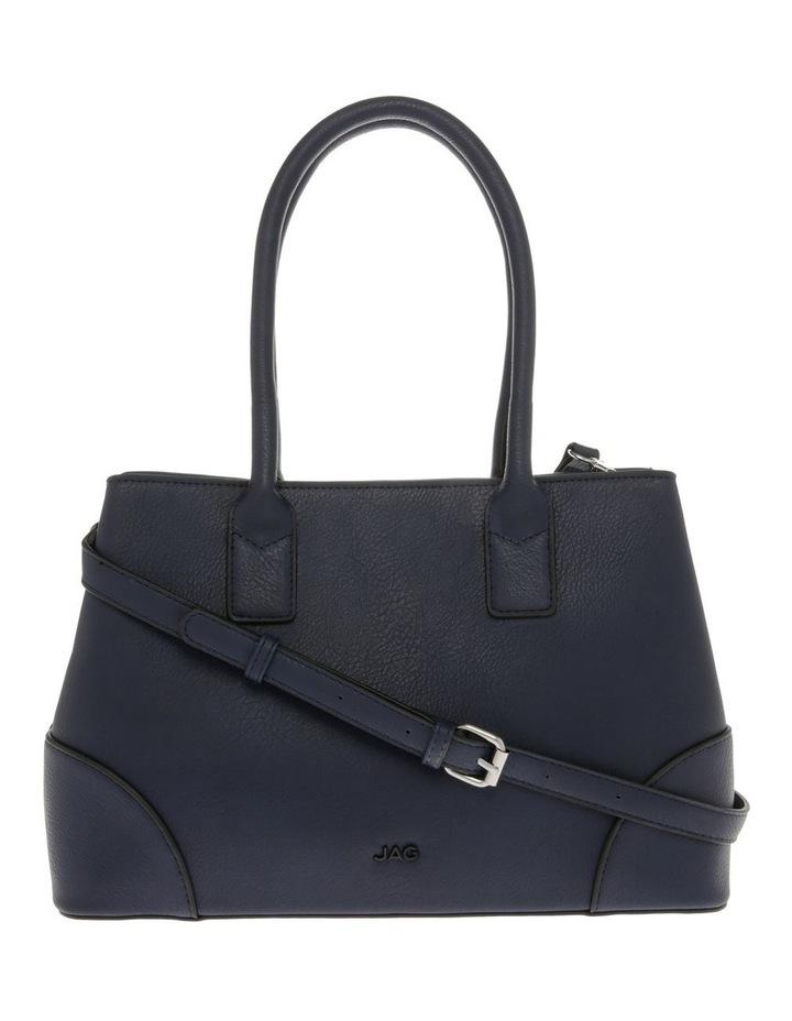 Behati Double-Handle Navy Tote Bag image 1
